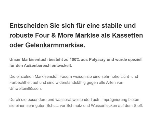 Gelenkarmmarkisen in  Thüringen - Jena, Gera oder Erfurt