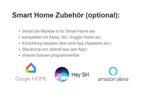 Markisen-Eigenschaften für  Essen