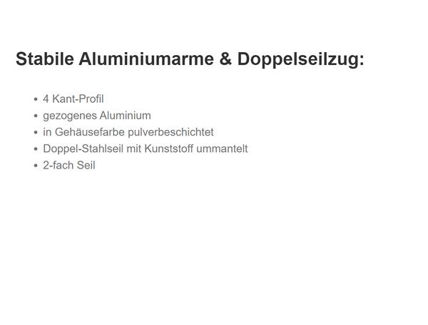 Regenschutz-Markisen für  Thüringen
